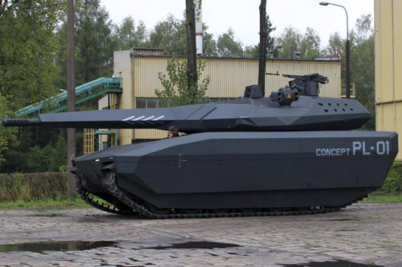 Oto PL-01- nowy polski mały czołg!